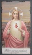 IMAGE PIEUSE BOUASSE Pl 965.E (chromo Vers 1900) SACRE COEUR DE JESUS SANTINO - Devotion Images