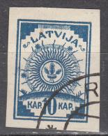 Latvia    Scott No.  11  Used    Year   1919 - Lettland