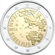 "FINLANDIA     2€ Bimetálica  2.015  2015   ""JEAN  SIBELIUS""   SC/UNC   T-DL-11.447 - Finland"
