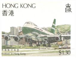 (652) Hong Kong Aviation - Boeing 747 Landing At Kai Tak Airport - Aérodromes