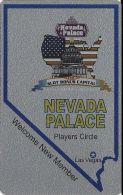Nevada Palace Casino Las Vegas Slot Card (Blank) - Cartes De Casino
