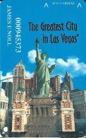 New York New York Casino Las Vegas Slot Card - With 10.5mm Mag Stripe (Printed) - Casino Cards