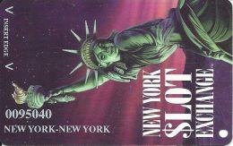 New York New York Casino Las Vegas Slot Card - NYNY Printing - Casino Cards