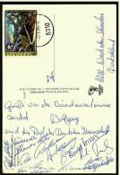 11 Original Signaturen / Unterschriften Der Deutschen Skisprung-Nationalmannschaft Von 1985/ 1986    (5328) - Wintersport