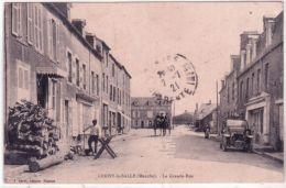 CERISY-la-SALLE - La Grande Rue -ed. J Sorel - France