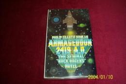 PHILIP FRANCIS NOWLAN  °  THE SEMINAL  BUCK ROGERS NOVEL ARMAGEDDON 2419 AD - Livres, BD, Revues