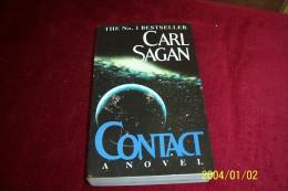 CARL SAGAN  °  CONTACT - Livres, BD, Revues
