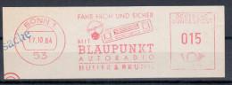 Germany Deutschland 1964 Blaupunkt, Radio, Bonn - Sin Clasificación