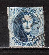 7  Médaillon Non Dentelé - Oblit. P5 ARLON - LOOK - X046!!!! - 1851-1857 Medallions (6/8)