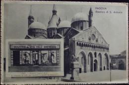 INDUSTRIA DELLA SETA ITALO AMERICANA Padova - Società ISIA - Non Viaggiata Formato Piccolo FOTO ALINARI - Publicidad