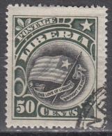 Liberia   Scott No. 109   Used    Year 1906 - Liberia