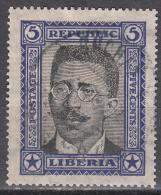 Liberia   Scott No. 217    Used    Year 1923 - Liberia