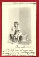 PAD-10  Bébé Pleurant Au Sortir Du Bain. Précurseur, Circulé Sous Enveloppe - Neonati
