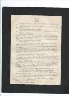 Annonce/Madame Guyon, Marquise De Guercheville/74ans /Chateau De Lebisey/CAEN/1894     FPD35 - Décès