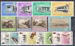 K 835 PITCAIRN ISLANDS  XX  YVERT NR 283/286 + 291/294 + 309/312 ZIE SCAN - Timbres