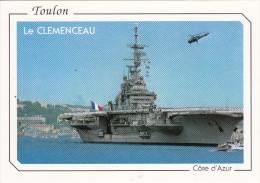 83 - TOULON  - Le CLEMENCEAU - Toulon