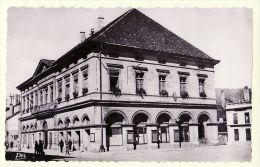 X25025 PONTARLIER Doubs HOTEL VILLE Mairie CPSM 1950s - Bromure PEQUINOT 394 - Pontarlier