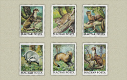 HUNGARY 1979 FAUNA Forest ANIMALS - Fine Set MNH - Otros