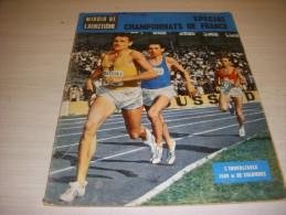 MIROIR ATHLETISME 03 08.1963 JAZY MACQUET SPECIAL CHAMPIONNAT De FRANCE RESULTAT - Sport
