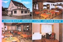 """8751 LEIDERSBACH - ROSSBACH, Restaurant """"Grüner Baum"""" - Miltenberg A. Main"""