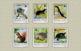 HUNGARY 1986 FAUNA Forest ANIMALS - Fine Set MNH - Otros