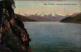 Como   70         Lago Di Como. Panorama Della Villa Serbelloni - Como