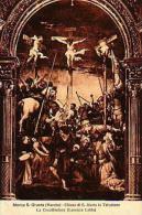 Marche   161        Monte S.Giusto. Chiesa Di S.Maria In Telusiano. La Crocifissionne - Italy