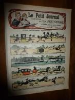 1905 LPJij : BD En Sombre (histoire); Revue Du 14 Juillet; Les 3 OURS; Faire Des JOUETS Avec De La PAILLE; - Le Petit Journal