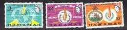 Bahamas Scott   269-71 Used VF  CV $ 2.00 - Bahamas (...-1973)