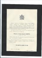 Annonce Messe/Monsieur Joseph Amand LABITTE/  /73 Ans /LIOMER/1894  FPD60 - Décès