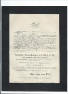 Annonce Messe/Marie Léonie Le Correur /76 Ans/Cathédrale D' Amiens /1895   FPD65 - Décès