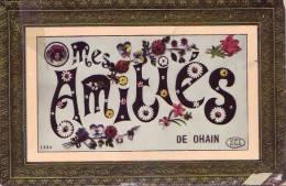 OHAIN = Mes Amitiés De Ohain - Carte Couleur  (1903) - Lasne