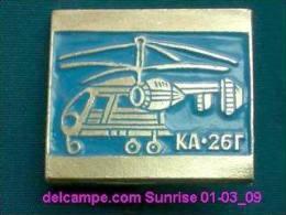 """Soviet Helicopter """"KA-26"""" / Soviet Badge 01-03_1039_09 - Fesselballons"""