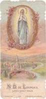 25489 Image Pieuse Ancienne -Notre Dame De Lourdes, Priez Pour Nous - Images Religieuses