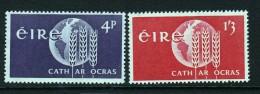 Ireland Scott  186-87 Mint NH VF  CV $ 4.00 - 1949-... Republic Of Ireland