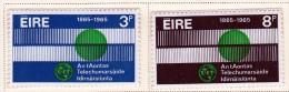 Ireland Scott  198-99 ITU  Mint NH VF  CV $ 4.50 - 1949-... Republic Of Ireland