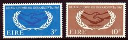 Ireland Scott  202-03 ICY  Mint NH VF  CV $ 5.50 - 1949-... Republic Of Ireland
