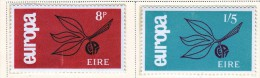 Ireland Scott 204-05 Europa ´68  Mint NH VF  CV $ 20.00 - 1949-... Republic Of Ireland