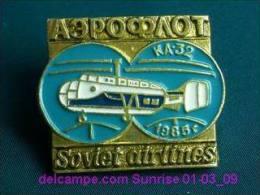 """Soviet Helicopter """"KA-32"""" / Soviet Badge 01-03_1131_09 - Montgolfières"""
