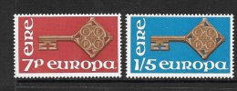 Ireland Scott  242-43 Europa   Mint NH VF  CV $ 3.75 - 1949-... Republic Of Ireland