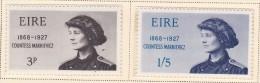 Ireland Scott  246-47    Mint NH VF  CV $ 1.65 - 1949-... Republic Of Ireland