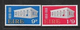 Ireland Scott  270-71 Parliament  Mint NH VF  CV $ 4.00 - 1949-... Republic Of Ireland