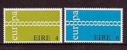 Ireland Scott  305-06 Europa ´71  Mint NH VF  CV $ 5.00 - 1949-... Republic Of Ireland