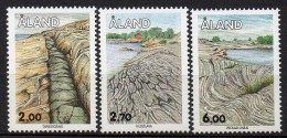 Aland - 1993 - Yvert N° 75 à 77 ** - Aland