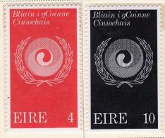 Ireland Scott  310-11 Mint NH VF  CV $ 0.75 - 1949-... Republic Of Ireland