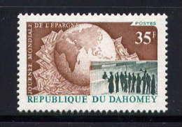 DAHOMEY.  - N° 347** - JOURNEE MONDIALE DE L´EPARGNE - Bénin – Dahomey (1960-...)