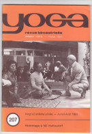 Revue Yoga, Bimestrielle Juillet-Aout 1983 . Hommage Nil Hahoutoff - Livres, BD, Revues