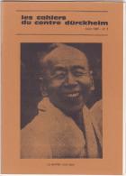 Revue Cahiers Durckheim -psychologie Politique Spiritualite -Aout 1982 N° 5 -maitre Yuho Seki