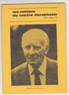 Revue Cahiers Durckheim -psychologie Politique Spiritualite -avril 1983 N° 6 Karfield Graf Durckheim