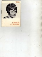 Mode  - Agenda Coiffure - J.C. Bourdy  Valenton (Val De Marne) - Petit Format : 1961-70